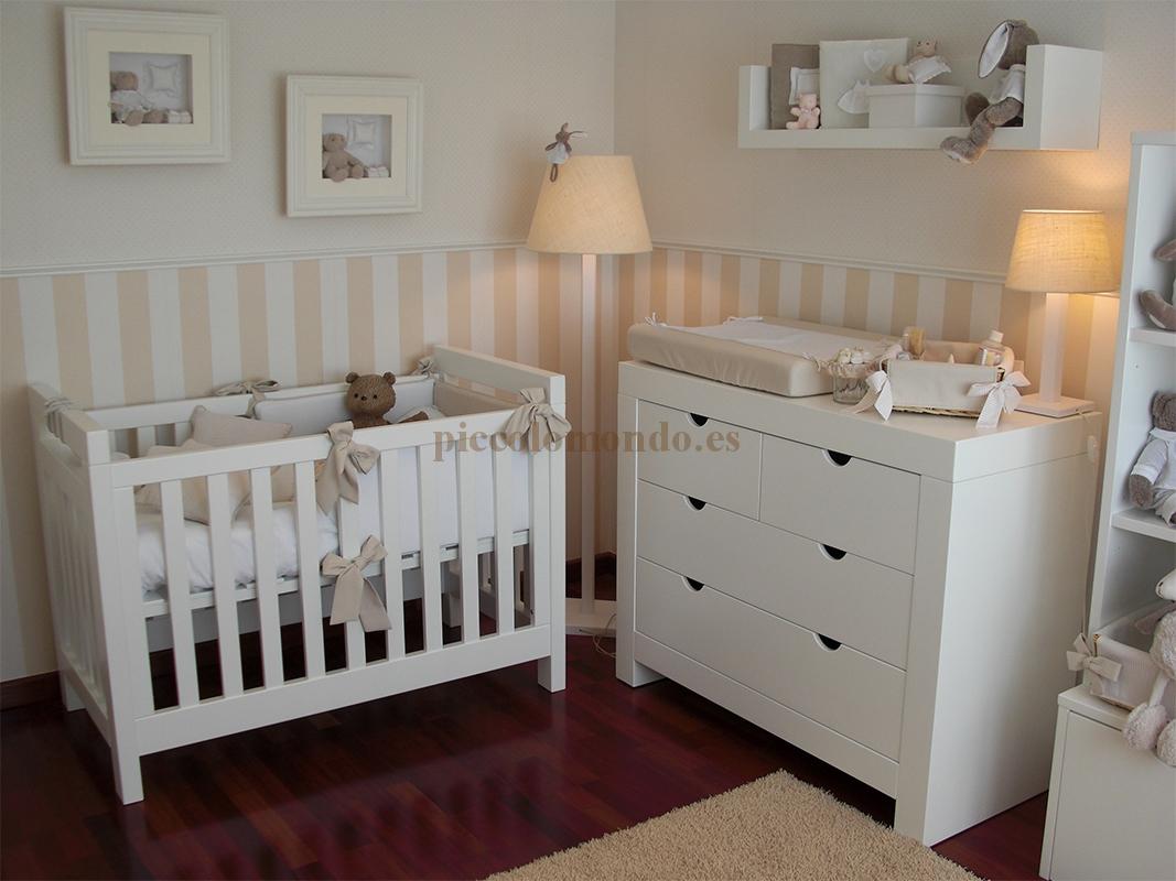 Habitaci n infantil 2 piccolo mondo for Decoracion de bebes recien nacidos