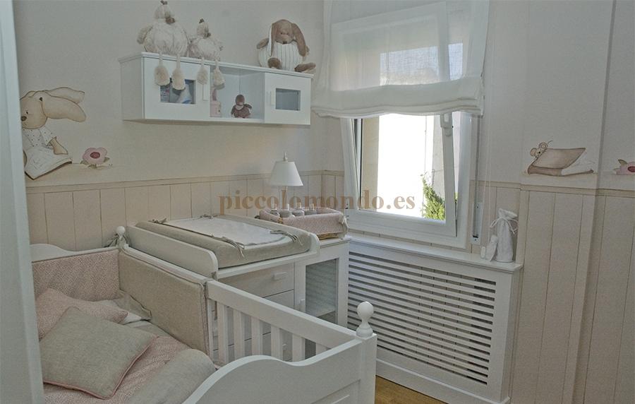 Habitaci n infantil piccolo mondo - Estores para habitacion de bebe ...